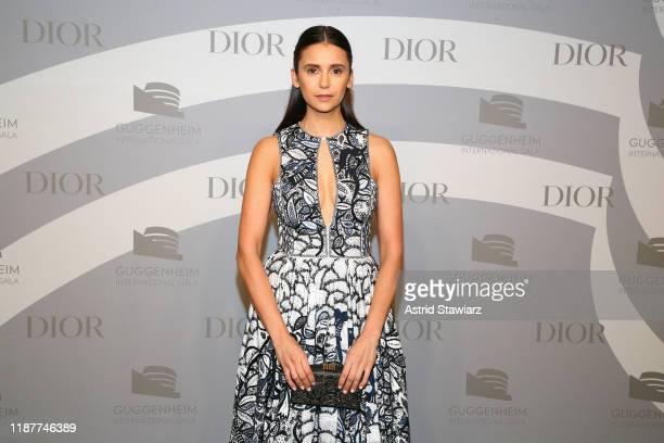 Nina Dobrev attends the 2019 Guggenheim International Gala at Solomon R Guggenheim Museum on November 14 2019 in New York City