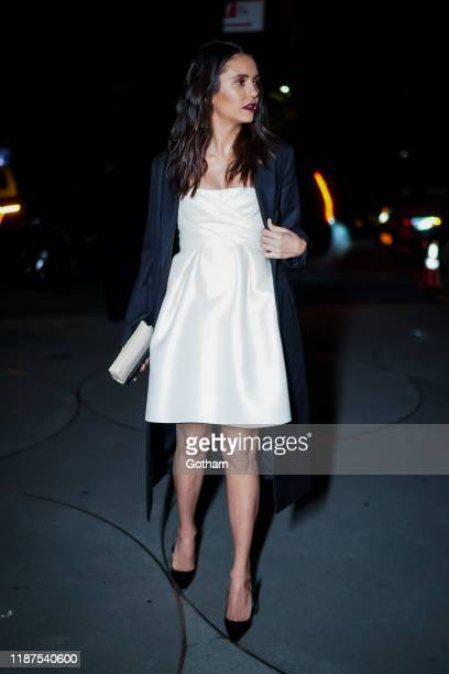Nina Dobrev attends the 2019 Guggenheim International Gala on November 13 2019 in New York City