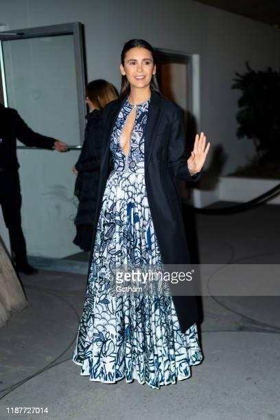 Nina Dobrev attends the 2019 Guggenheim International Gala on November 14 2019 in New York City