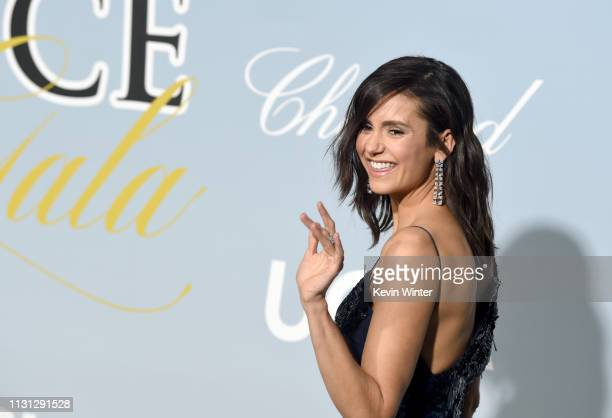 Nina Dobrev attends the 2019 Hollywood For Science Gala at Private Residence on February 21, 2019 in Los Angeles, California.
