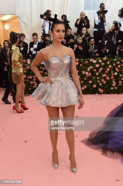 Nina Dobrev attends The 2019 Met Gala Celebrating Camp Notes on Fashion at Metropolitan Museum of Art on May 06 2019 in New York City