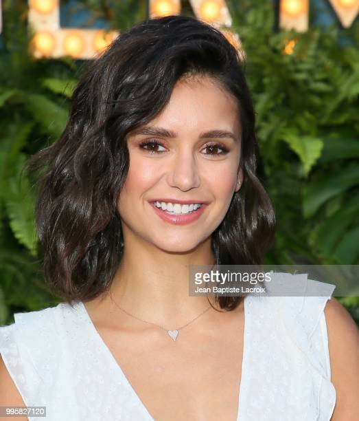 Nina Dobrev attends the 2nd Annual Maison St-Germain on July 10, 2018 in Malibu, California.