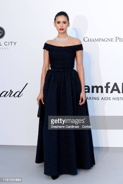 Nina Dobrev attends the amfAR Cannes Gala 2019>> at Hotel du Cap-Eden-Roc on May 23, 2019 in Cap d'Antibes, France.