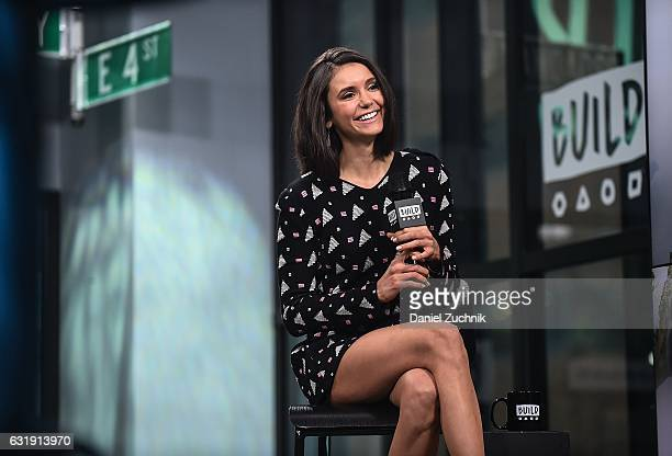 Nina Dobrev attends the Build Series to discuss her new film 'xXx Return Of Xander Cage' at Build Studio on January 17 2017 in New York City