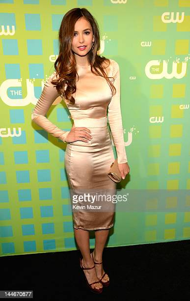 Nina Dobrev attends the CW Network's 2012 Upfront at The London Hotel on May 17 2012 in New York City