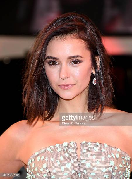 Nina Dobrev attends the European Premiere of Paramount Pictures' 'xXx Return of Xander Cage' on January 10 2017 in London United Kingdom