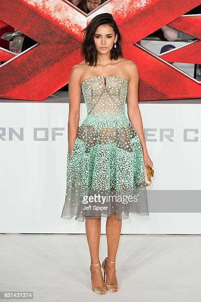 Nina Dobrev attends the European premiere of xXx Return of Xander Cage' on January 10 2017 in London United Kingdom