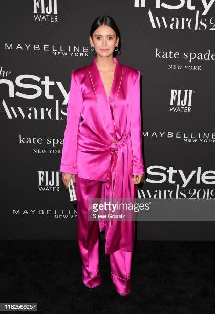 Nina Dobrev attends the Fifth Annual InStyle Awards at The Getty Center on October 21, 2019 in Los Angeles, California.