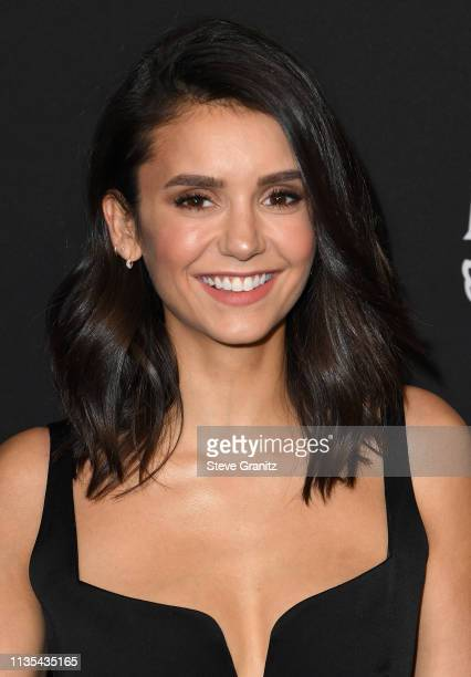 Nina Dobrev attends the Marie Claire Change Makers Celebration at Hills Penthouse on March 12, 2019 in West Hollywood, California.