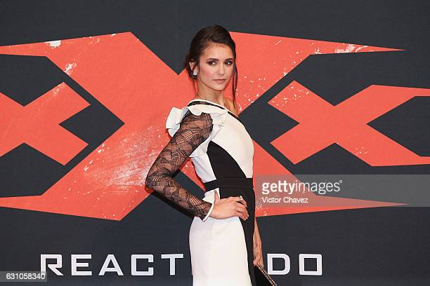 """Nina Dobrev attends the Mexico City Premiere of the Paramount Pictures """"xXx: Return of Xander Cage"""" at Auditorio Nacional on January 5, 2017 in..."""