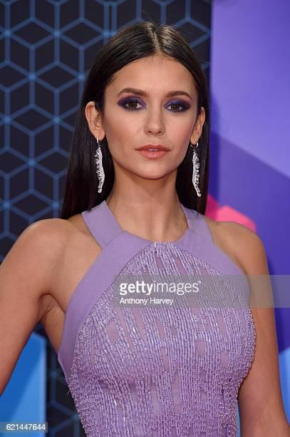 Nina Dobrev attends the MTV Europe Music Awards 2016 on November 6 2016 in Rotterdam Netherlands