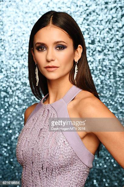 Nina Dobrev attends the MTV Europe Music Awards 2016 on November 6 2016 in Rotterdam Netherlands