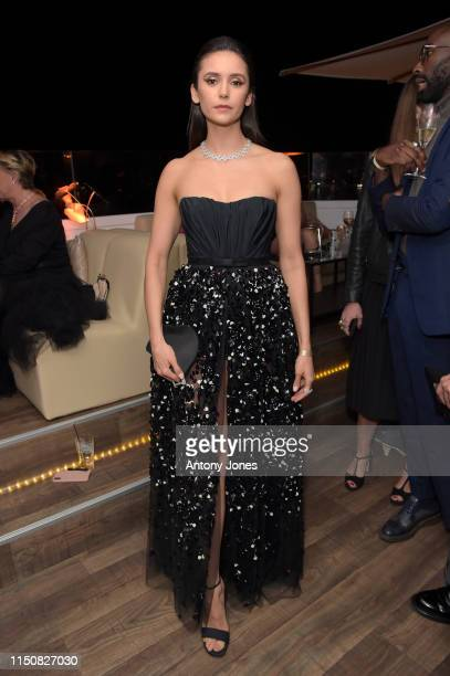Nina Dobrev attends the Once Upon A Time In Hollywood After Party at JW Marriott on May 21, 2019 in Cannes, France.