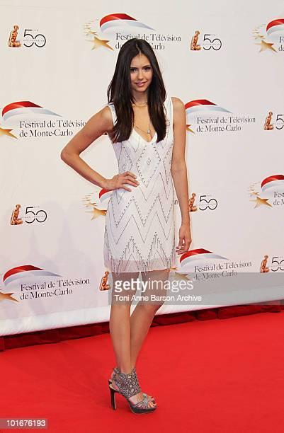 Nina Dobrev attends the opening night of the 2010 Monte Carlo Television Festival held at the Grimaldi Forum on June 6, 2010 in Monte-Carlo, Monaco.