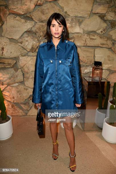 Nina Dobrev attends Vanity Fair and Fashion Designers Jack McCollough and Lazaro Hernandez Celebrate the Launch of Proenza Schouler's First...