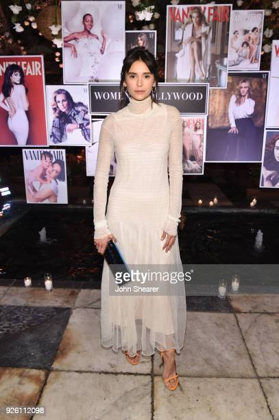 Nina Dobrev attends Vanity Fair and Lancome Paris Toast Women in Hollywood hosted by Radhika Jones and Ava DuVernay on March 1 2018 in West Hollywood...