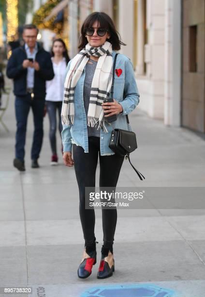 Nina Dobrev is seen on December 19 2017 in Los Angeles CA