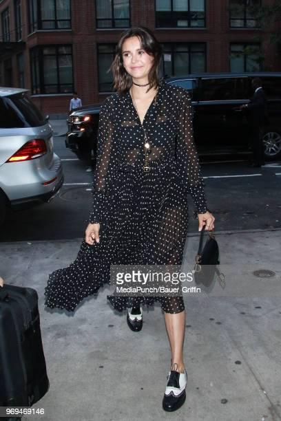 Nina Dobrev is seen on June 07 2018 in New York City