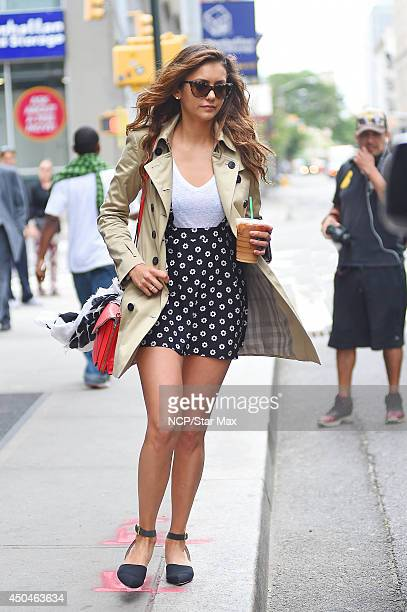 Nina Dobrev is seen on June 11 2014 in New York City