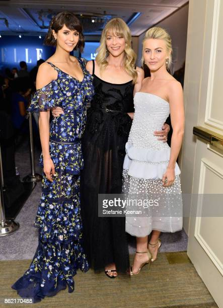 Nina Dobrev Jamie King and Julianne Hough attend ELLE's 24th Annual Women in Hollywood Celebration presented by L'Oreal Paris Real Is Rare Real Is A...