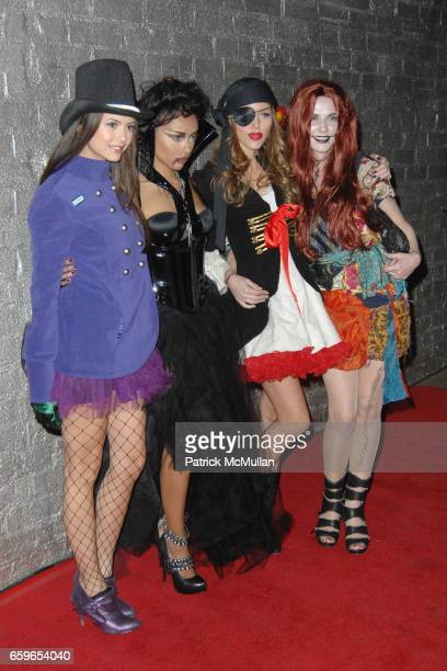 Nina Dobrev Katerina Graham Kayla Ewell and Candice Accola attend HEIDI KLUM'S 10TH ANNUAL HALLOWEEN PARTY PRESENTED BY MSN AND SKYY VODKA at Voyeur...