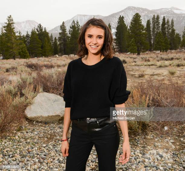 Nina Dobrev poses for portrait giveback for The Artists Project at The Inaugural Mammoth Film Festival on February 10, 2018 in Mammoth Lakes,...