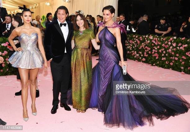 Nina Dobrev Vito Schnabel Gia Coppola and Katie Holmes attend The 2019 Met Gala Celebrating Camp Notes on Fashion at Metropolitan Museum of Art on...