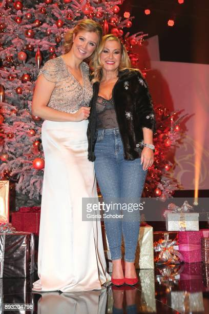 Nina Eichinger and Anastacia during the 23th annual Jose Carreras Gala at Bavaria Filmstudios on December 14 2017 in Munich Germany