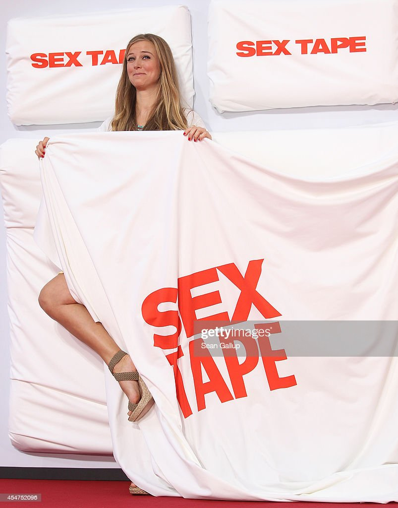 Nina Eichinger arrives for the German premiere of the film 'Sex Tape' at CineStar on September 5, 2014 in Berlin, Germany.