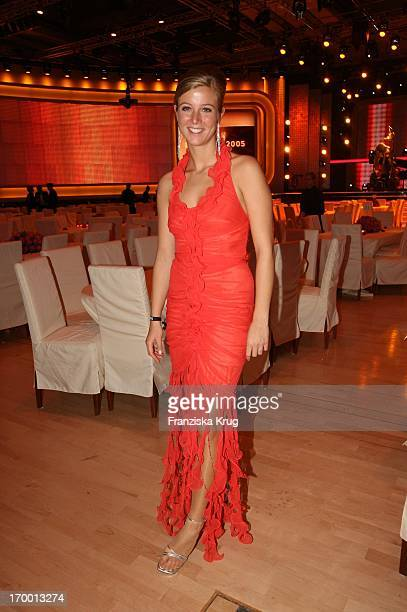 Nina Eichinger at the after-show party at 57th Bambi Awards in the International Congress Center Munich.