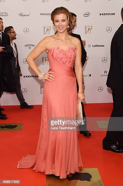 Nina Eichinger attends Kryolan at the Bambi Awards 2014 on November 13 2014 in Berlin Germany