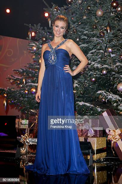 Nina Eichinger attends the 21th Annual Jose Carreras Gala at Hotel Estrel on December 17 2015 in Berlin Germany