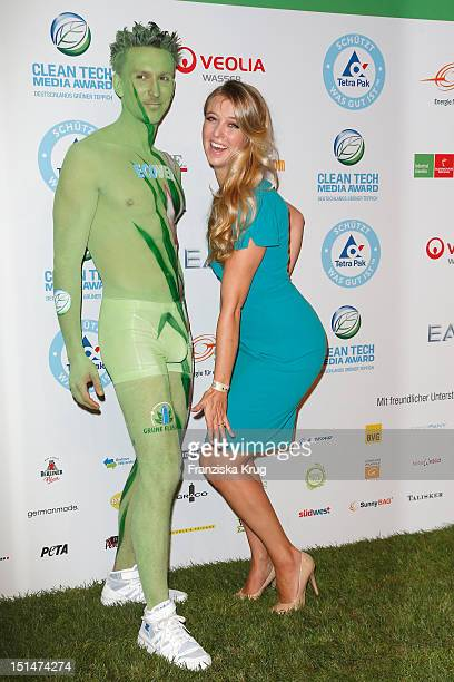 Nina Eichinger attends the Clean Tech Media Award at Tempodrom on September 7 2012 in Berlin Germany