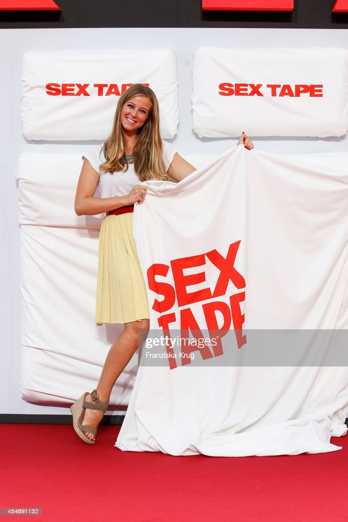 Nina Eichinger attends the German premiere of the film 'Sex Tape' at CineStar on September 5, 2014 in Berlin, Germany.