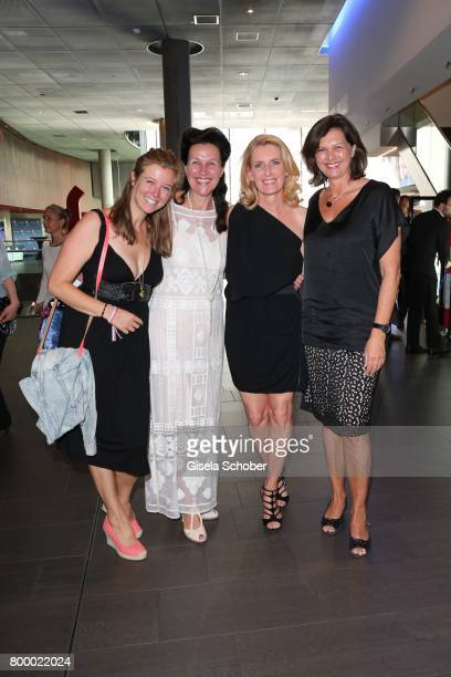 Nina Eichinger Bettina Reitz Dr Maria Furtwaengler and Ilse Aigner during the opening night of the Munich Film Festival 2017 at Mathaeser Filmpalast...