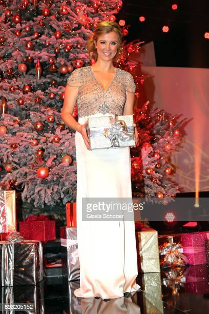 Nina Eichinger during the 23th annual Jose Carreras Gala at Bavaria Filmstudios on December 14 2017 in Munich Germany