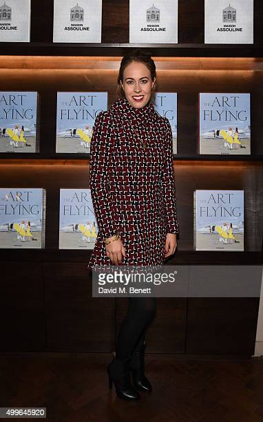 Nina Flohr attends 'The Art Of Flying' book launch reception at Maison Assouline on December 2 2015 in London England