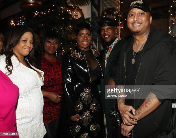 Nina Flowers Bevy Smith Fantasia Barrino Miss Lawrence and Gabriel Williams attend the Chez Lucienne Of Harlem Grand ReOpening and Fantasia's...