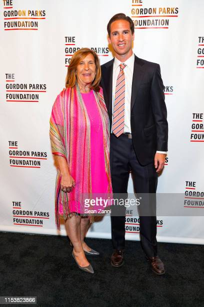 Nina Freedman and Peter Kunhardt Jr. Attend The Gordon Parks Foundation 2019 Annual Awards Dinner And Auction at Cipriani 42nd Street on June 04,...