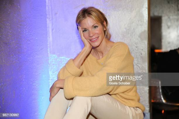 Nina Friederike Gnaedig during the NdF after work press cocktail at Parkcafe on March 14 2018 in Munich Germany