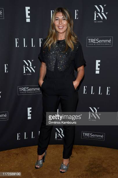 Nina García attends the E ELLE and IMG NYFW kickoff party hosted by TRESemmé on September 04 2019 in New York City