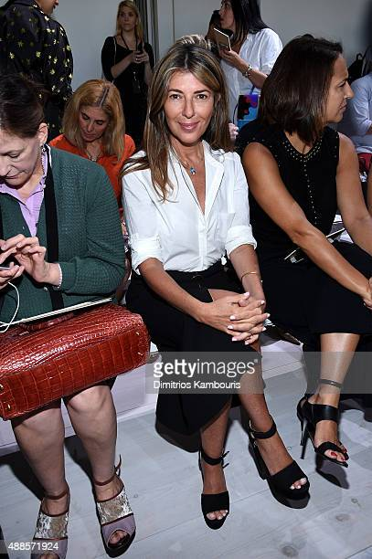 Nina García attends the Michael Kors Spring 2016 Runway Show during New York Fashion Week The Shows at Spring Studios on September 16 2015 in New...