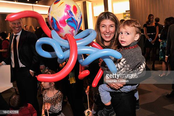 Nina Garcia and Alexander David Conrod attend Ringling Bros And Barnum Bailey Present Built To Amaze on March 21 2013 in New York City
