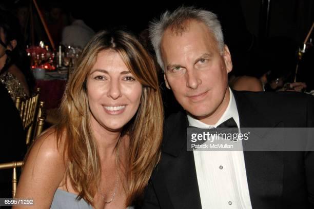 Nina Garcia and David Conrod attend The 2009 ALZHEIMER's ASSOCIATION RITA HAYWORTH GALA Themed SO NEAR YET SO FAR at Waldorf Astoria on October 27...
