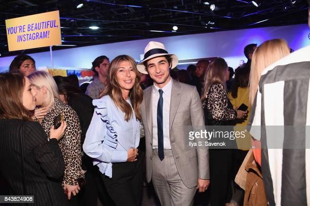 Nina Garcia and designer Zac Posen attend the Esmara By Heidi Klum Lidl Fashion Presentation at New York Fashion Week #Letswow at ArtBeam on...