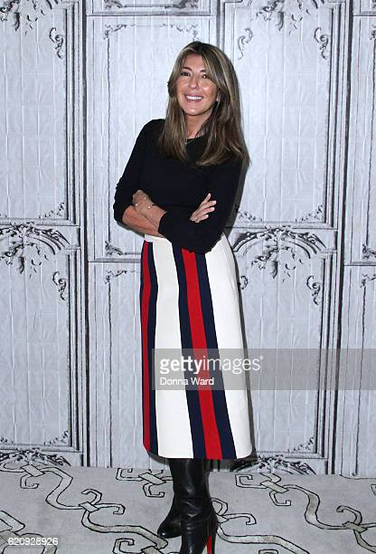 Nina Garcia appears to promote Project September during the AOL BUILD Series at AOL HQ on November 3 2016 in New York City
