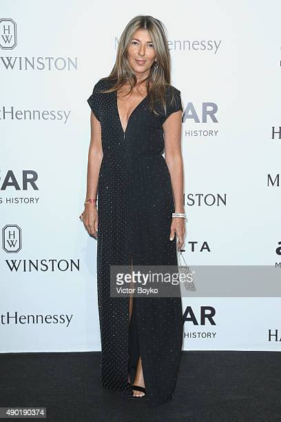 Nina Garcia attends amfAR Milano 2015 at La Permanente on September 26 2015 in Milan Italy