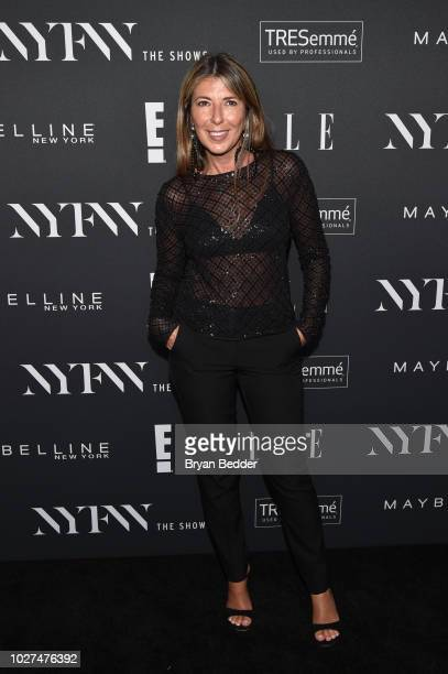 Nina Garcia attends as E ELLE IMG celebrate the KickOff To NYFW The Shows at The Pool on September 5 2018 in New York City