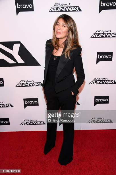 Nina Garcia attends Bravo's Project Runway New York Premiere at Vandal on March 07 2019 in New York City