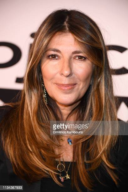 "Nina Garcia attends Bravo's ""Project Runway"" New York Premiere at Vandal on March 07, 2019 in New York City."